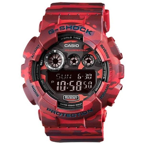 Casio G-Shock GD-120CM-4DR Herrenuhr Chronograph