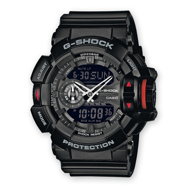 Casio G-Shock GA-400-1BDR Herrenuhr Chronograph