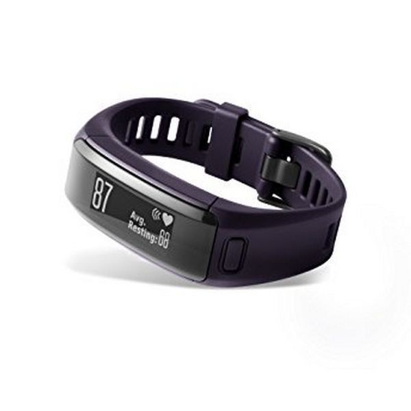 Activity-Armband GARMIN Vivosmart HR 29.6 g Lila Größe M