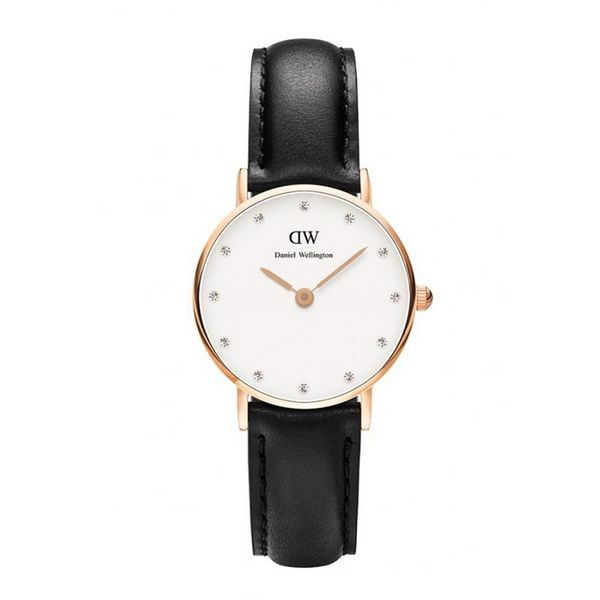 Daniel Wellington Damenuhr Sheffield DW00100060 Schwarz