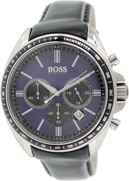 Hugo Boss Black Herren-Armbanduhr Contemporary Sport Driver Chronograph 1513077
