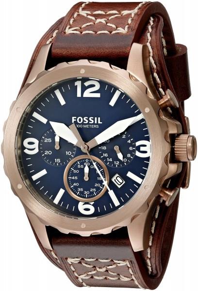 Fossil JR1505 Nate Chronograph Herren Armbanduhr