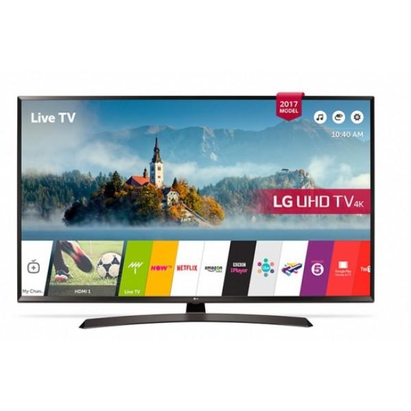"Smart TV LG 60UJ634V 60"" Ultra HD 4K LED HDR Wifi Schwarz"