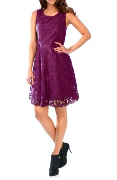 Spitzenkleid, beere von Ashley Brooke
