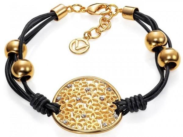 VICEROY Damen-Armband-Leder GILD FASHION 3126P09012