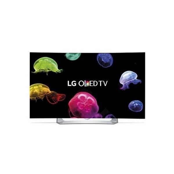 "Smart TV LG 55EG910V 55"" Full HD OLED Wifi/WebOS Wölbung Schwarz/Silberfarben"