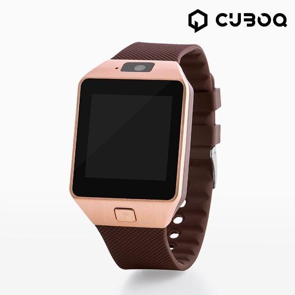 cuboq-smartwatch-kupfer