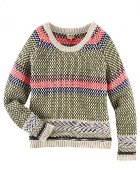 Pullover, bunt von ONLY