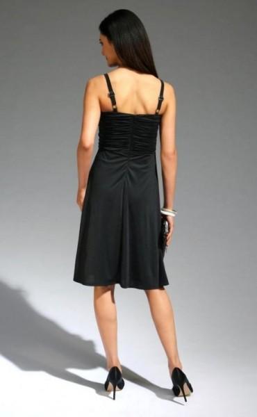 Bustierkleid, schwarz von Laura Scott