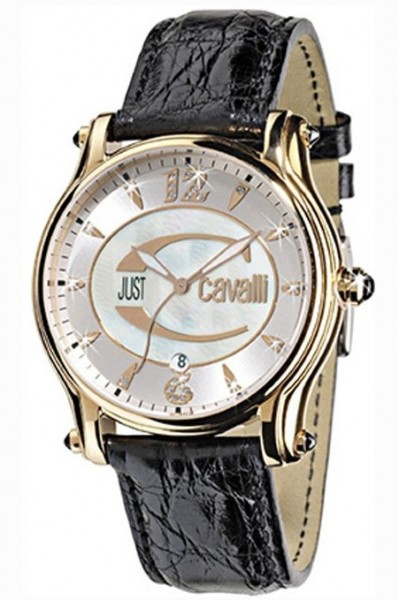 Damenuhr JUST CAVALLI ECLIPSE - Mother of pearl dial- diamonds index R7251168545