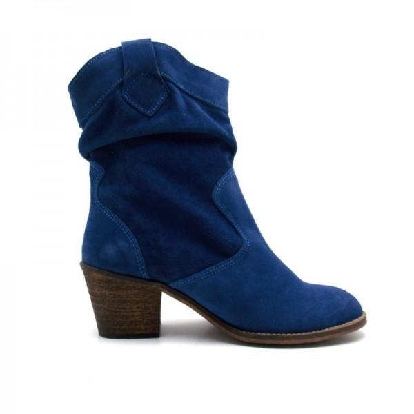 Stiefel Damen von LE TEMPS DES CERISES aus Wildleder