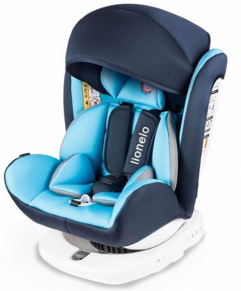 Lionelo Bastiaan Auto Kindersitz mit Isofix Autositz Blau