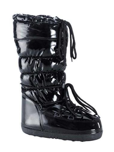 Lack-Stepp-Stiefel, schwarz von Heine