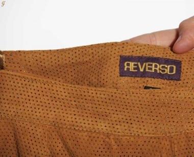Lederhose braun von REVERSO
