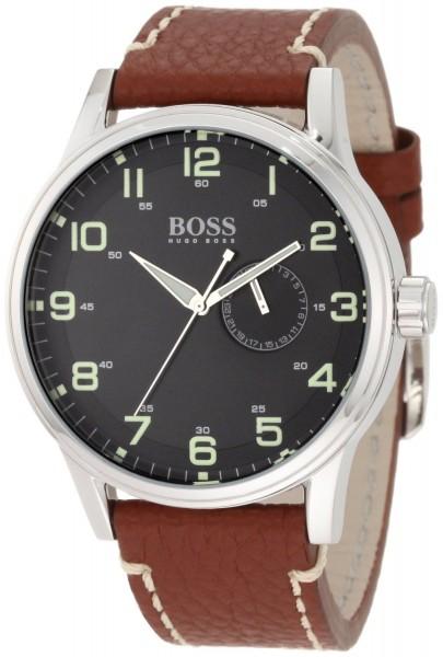 Hugo Boss Aeroliner Herren-Armbanduhr XL 1512723