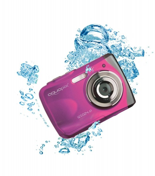 Easypix 10013 Splash Digitalkamera (10 Megapixel, 4-fach digitaler Zoom, 6,1 cm (2,4 Zoll) Display)