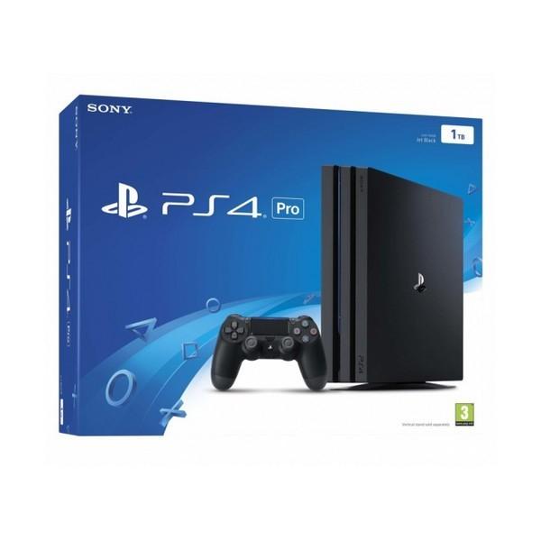 PlayStation 4 Pro Sony 37067 1 TB Schwarz