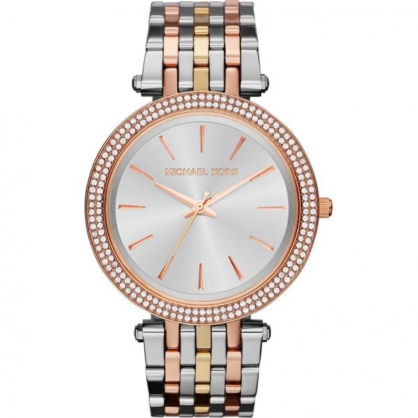 Michael Kors Damen Armbanduhr Trilogy MK3203