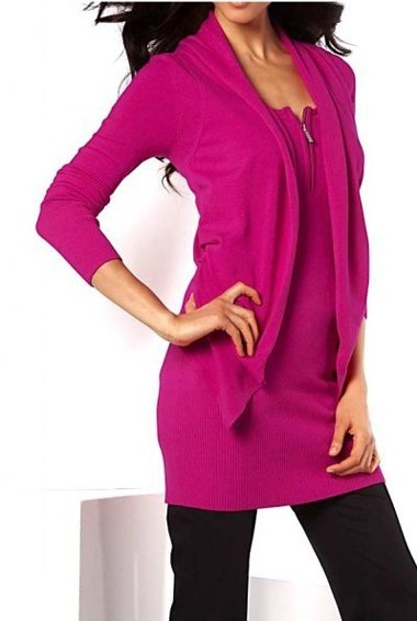 2-in-1-Pullover, cyclam von APART