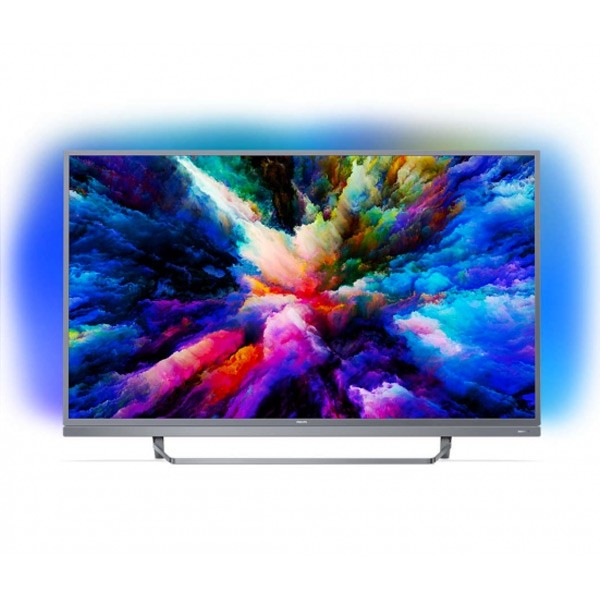 "Smart TV Philips 49PUS7503 49"" Ultra HD 4K WIFI HDR Silber"