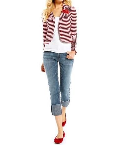 7/8 Jeans, blau von APART