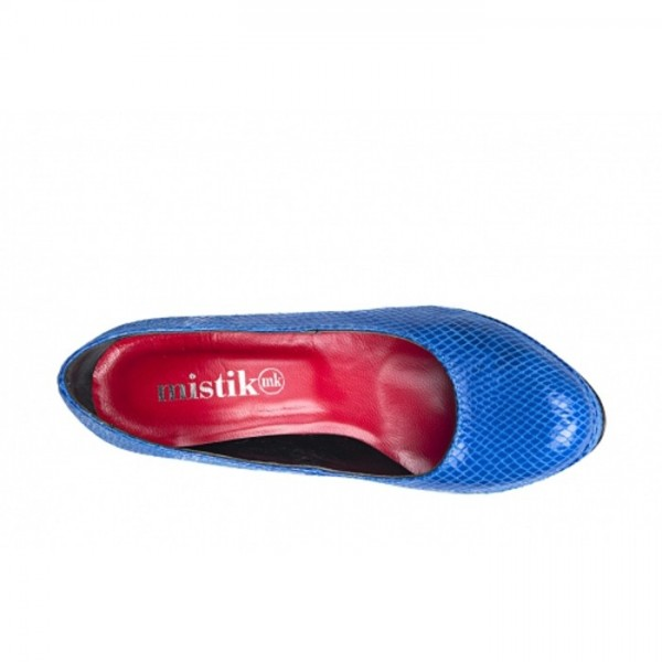 Mistika - Damen High Heels Blau