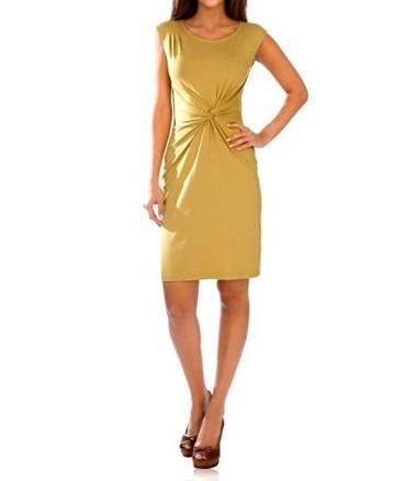 Kleid, gelb von Ashley Brooke