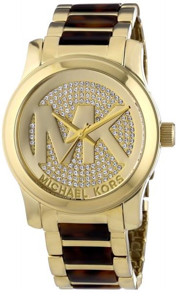 MICHAEL KORS RUNWAY MK5864 Damenuhr Farbe Gold