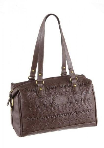Handtasche, braun von Tom Tailor