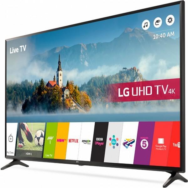 "Smart TV LG 55UJ630V 55"" Ultra HD 4K LED IPS HDR10 Braun"