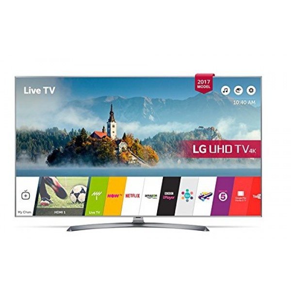 "Smart TV LG 55UJ750V 55"" Ultra HD 4K LED HDR Wifi Silberfarben"