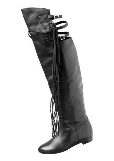 Overknee-Stiefel schwarz von BRONX