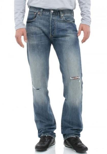 Jeans, blau ripped von LEVI'S