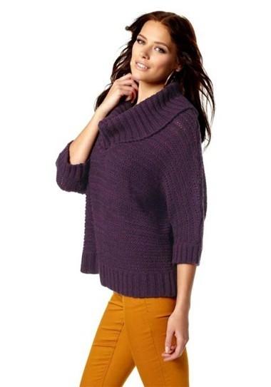 Pullover, lila von Laura Scott