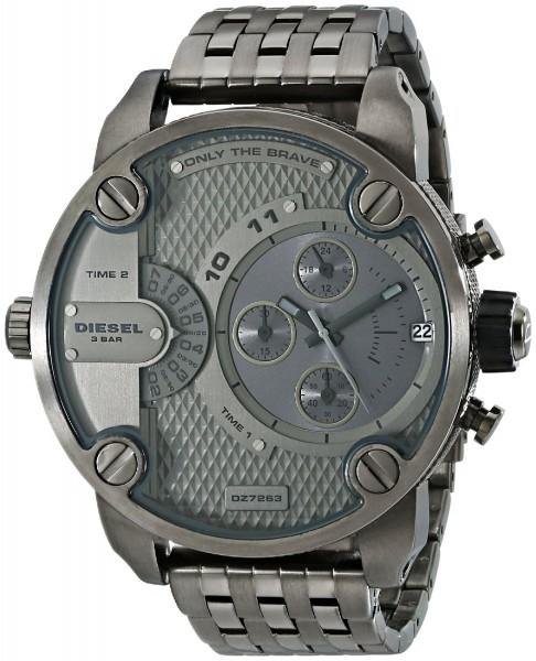 Diesel Herren-Armbanduhr XL SBA Chronograph DZ7263