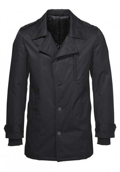 Mantel, schwarz von Bruno Banani