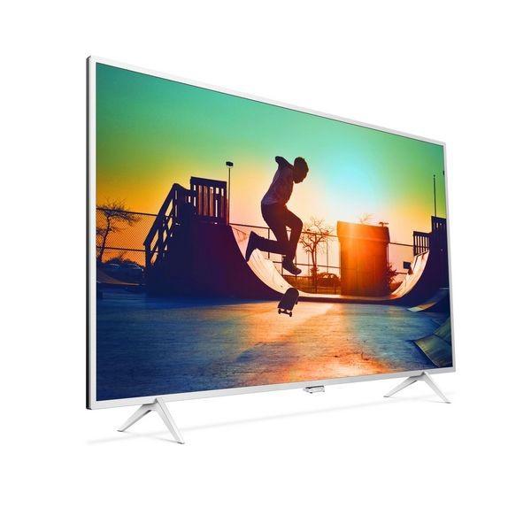 """Smart TV Philips 222189 55"""" Ultra HD 4K WIFI Silber"""