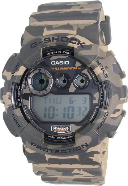 Casio G-Shock GD-120CM-5DR Herrenuhr Chronograph