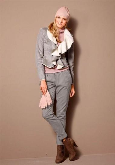 Strickset- Mütze + Handschuhe, rosa | Versandkostenfrei