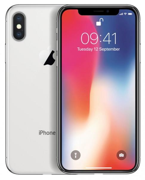 Apple iPhone X 4G 64GB silver EU