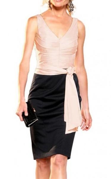 Abendkleid schwarz-puder von APART