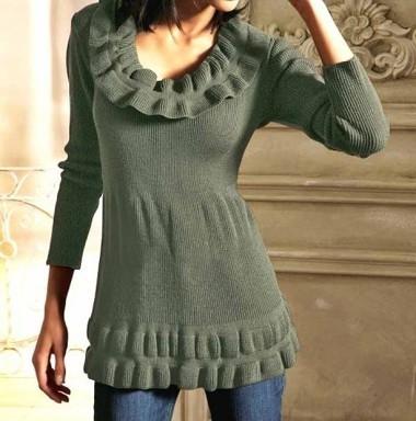 Pullover, oliv von Linea Tesini