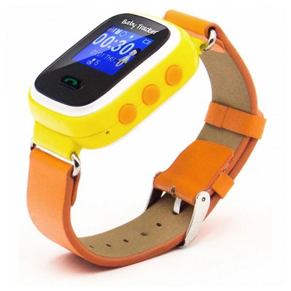Smartwatch für Kinder Overnis 221916 GPS GSM Tracking USB 5 V Orange