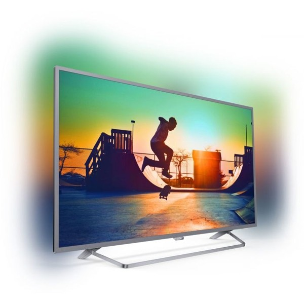 "Smart TV Philips 55PUS6272 55"" 4K UHD LED WIFI Schwarz Silber"