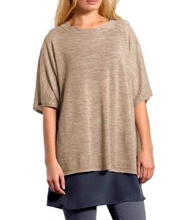 Alpaka-Pullover, sand von American Vintage