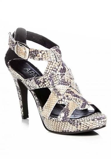 Sandalette, Schlangenprint von APART