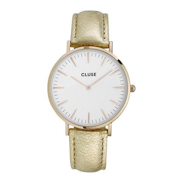 CLUSE Damenuhr La Bohème CL18421 Farbe Gold & White