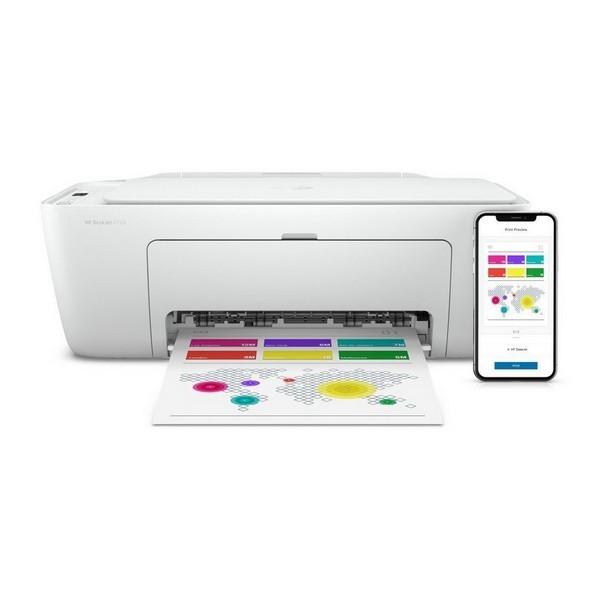 HP Deskjet 2720 7.5 ppm Multifunktionsdrucker WiFi Weiss