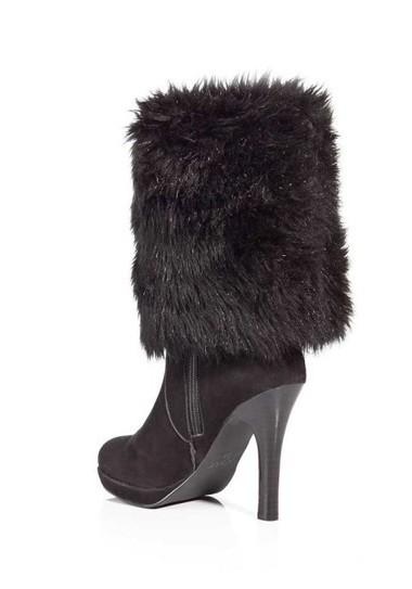 Stiefel mit Fell, schwarz von APART