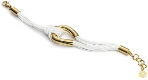 VICEROY Damen-Armband STEEL. IP GILD AND CORDÓN ALGODÓN SRA 6311P09019